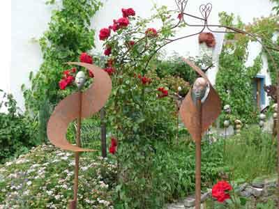 Bild Startseite Skulpturen Windspiel